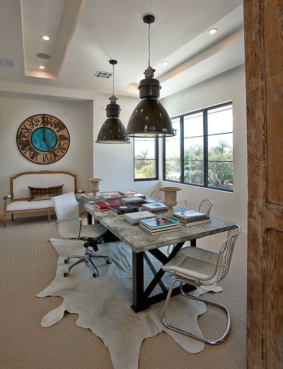 no window treatments in an office creative blinds